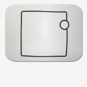 WM000611 / Прокладка между измерителем и насосным блоком круглого сечения WM000611, Т=4 (с 2006 г)